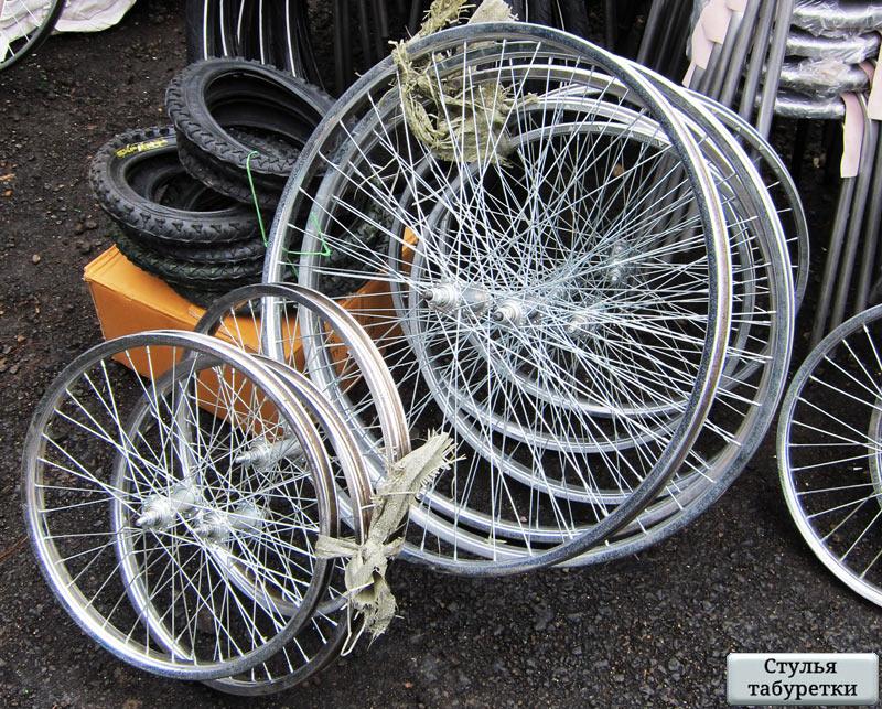 Камеры и покрышки, колёса для велосипедов из Республики Чувашии